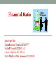 Financial Ratio Analysis PowerPoint