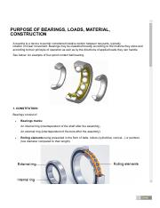 PURPOSE OF BEARINGS, LOADS, MATERIAL, CONSTRUCTION [BEARINGS] 1.pdf