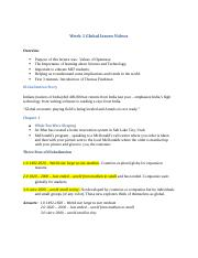Proctor-Week1GlobalIssuesVideos - Copy.docx