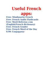 Useful_French_apps