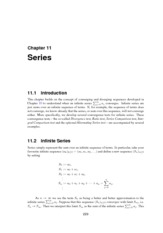Math 103 - chapter11 Series