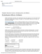 5. Redistribution Effects of Inflation