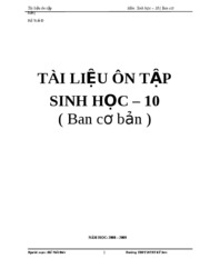 TAI LIEU ON TAP 10