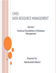 Ch05_Data_Resource_Management_Section1