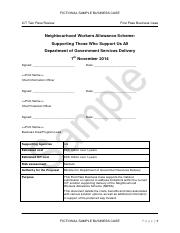 The statutory declaration or affidavit must be written by a third 30 pages sample first pass business case fictional proposal altavistaventures Choice Image