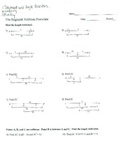 Printables Segment Addition Postulate Worksheet cd62c9c97a7fd55b05ce68d8531b15a46f780055 180 jpg