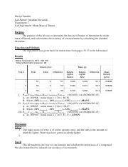 lab report butane Change of potential difference in voltaic cells lab report as the concentration of copper sulfate solution increases, the potential difference (voltage) between the two half cells increases.