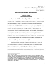277726770-An-End-to-Economic-Regulation
