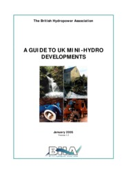 British ~ Mini hydro web guide