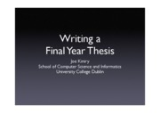 Management-1-writing a thesis