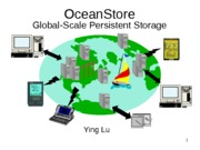 Lecture topic-OceanStore