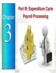 Chapter 3 - Part III (Payroll Processing) (1)