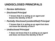 Agency UNDISCLOSED PRINCIPALS powerpoint 6