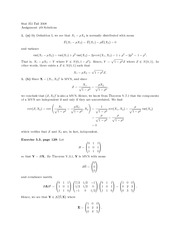 probability Assignment 9 Solutions