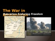 The War in Afghanistan.pptx