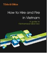 VN_Labor_Hire and Fire