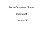Lecture 3 Social Class for post