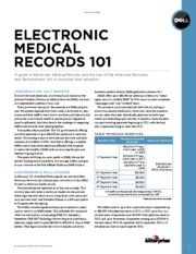 Electronic Patient records 101