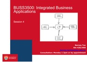 BUSS3500 Session 4