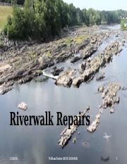 William Packer Riverwalk Repairs