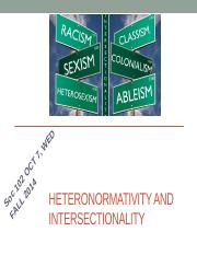Oct 8 - INTERSECTIONALITY AND HETERONORMATIVITY.pptx