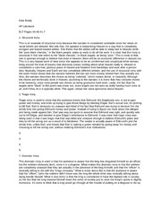 Literary Analysis Essay On Night