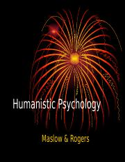 P13 Humanistic Psychology.ppt