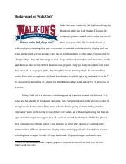 Walk Ons History Background.docx