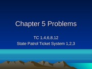 Chapter 5 TC & Cases