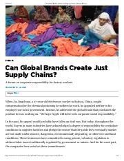 Can Global Brands Create Just Supply Chains_ _ Boston Review