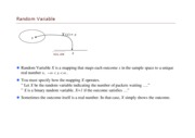 Random Variable Definition