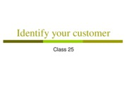 identify to whom you are selling ppt