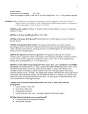 cda portfolio template - article summary template 1 1 chiara rucker research
