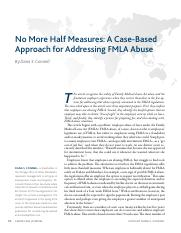 No More Half Measures FMLA Abuse.pdf