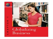 Peng Inst Chapter 1 (Globalizing Business)