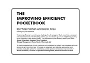 Management Pocketbooks - The Improving Efficiency Pocketbook