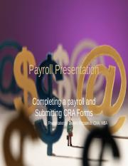 chapter 3 - Payroll presentation