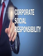 Wk 4 Corporate Social Responsibility