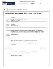 Review Test Submission_ BIOL 1010_Final Exam Test – .