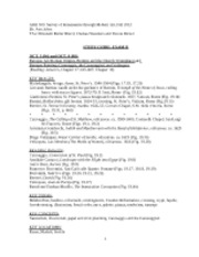 Exam II Study Guide fall 2012 REVISED