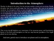 EAS 345 Lecture on Atmosphere Intro