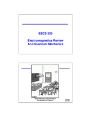 03 - Electromagnetics review and QM