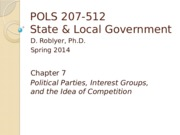POLS 207 Sp2015 Chpt 7 (Roblyer, with last several slides narrated)