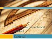 Introduction of technical analysis