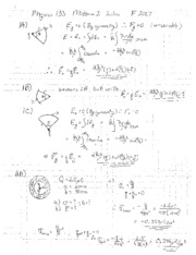Midterm1Solutions