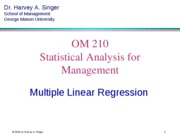 Multiple Regression Lite