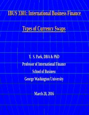 IBUS 3301 3-28-16 Currency Swap Types.ppt