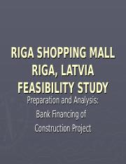 Riga_Project_Feasibility_Study.ppt