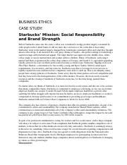 starbucks mission social responsibility and brand strength ppt