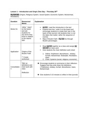 Stangret - Lesson Plan-2
